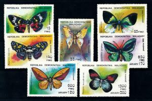 [99003] Madagascar 1992 Insects Butterflies  MNH