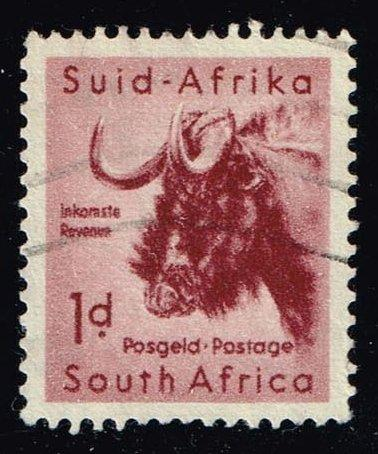 South Africa #201 Gnu; Used at Wholesale