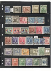 PARAGUAY COLLECTION ON STOCK SHEETS, MINT/USED