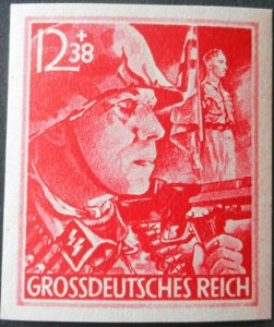 Germany 1945 12 Pfennig imperf Michel 910U u/mint
