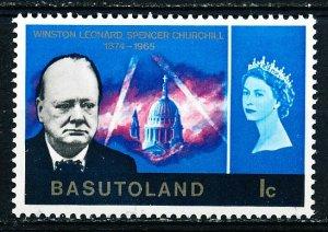 Basutoland #105 Single MH