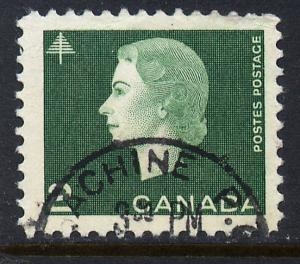 Canada 402, 2c Queen Elizabeth II. Used. (502)