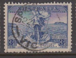 Australia Sc#158 Used