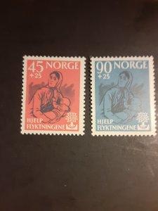 *Norway #B64-B65                   MH