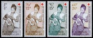 Laos Scott C31-C34 (1958) Mint LH VF Complete Set C