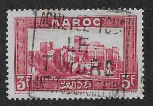FRENCH MOROCCO SC# 144  VF/U    1933