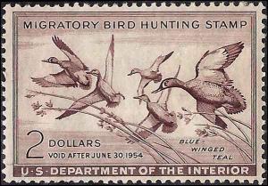 RW20 Mint,OG,NH... SCV $90.00