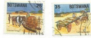 Botswana #346-347 (U) CV $2.50