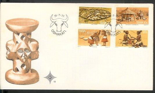 Namibia - 1977 The Ovambo People (FDC)