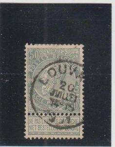 Belgium  Scott#  71  Used  (1897 King Leopold)