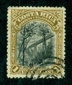 Costa Rica 1901 #51 U SCV (2020) = $3.50