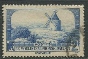 France - Scott 307 - General Issue -1936 - Used -Single 2fr Stamp