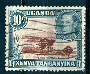 Kenya, Uganda & Tanzania; 1952: Sc. # 71: O/Used Single Stamp