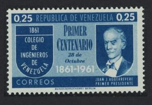 Venezuela Engineering College Centenary 1v SG#1700 SC#801