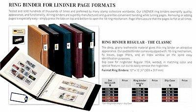 Lindner Regular Ring Binder Set The Classic Blue (Item ...