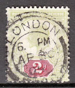Great Britain - Scott #130 - Used - Pulled perf UL - SCV $10.00