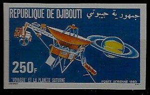 Djibouti C140 MNH imperf. Space