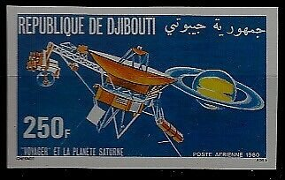Djibouti C140 MNH imperf. Space
