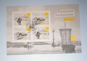 Liechtenstein 2020 Europa (C.E.P.T.) 2020 - Old Postal Routes CTO