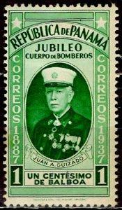 Panama 1937: Sc. # 312: */MH Single Stamp