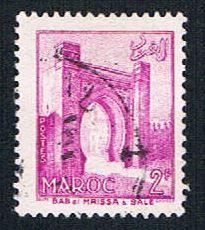 French Morocco 313 Used Mrissa Gate (BP14116)