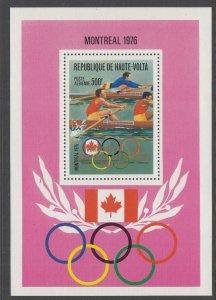 Burkina Faso C247 Summer Olympics Souvenir Sheet MNH VF