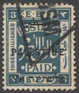 PALESTINE British Military Occupation 1922 Sc 50  3m Used VF