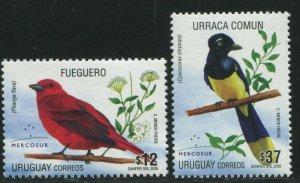Uruguay 2008 Sc 2231-2232 Birds CV $7