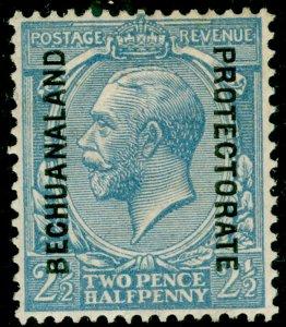 BECHUANALAND SG78a, 2½d blue, M MINT. Cat £27.