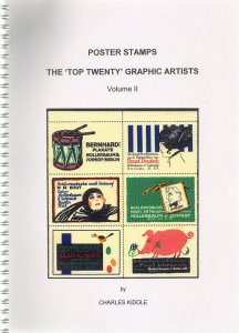(I.B-CK) Cinderella Catalogue : Poster Stamps : Top 20 Graphic Artists (v