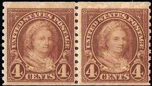 601 Mint,OG,NH... Pair... SCV $16.50