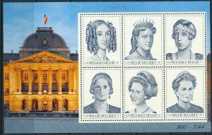 [I500000] Belgium 2001 Queens good sheet very fine MNH