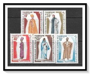Mauritania #284-288 Traditional Costumes Set MNH