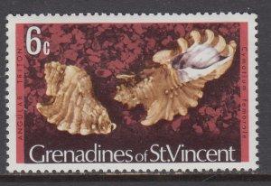 St Vincent Grenadines 38 Seashell MNH VF