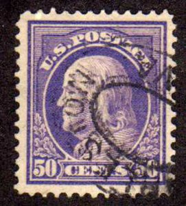MALACK 422 SUPERB JUMBO used, Big Stamp, Great Color! g7386
