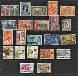 STAMP STATION PERTH Sarawak #23 Mint / Used Selection - Unchecked
