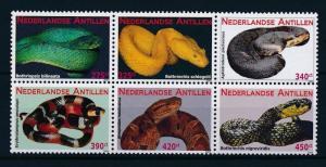 [NA1946] Netherlands Antilles Antillen 2009 Snakes MNH # 1946-51