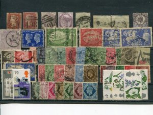 Great Britain  lot mainly used   - Lakeshore Philatelics