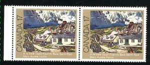 Can #887   pair   used VF 1981 PD