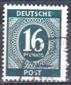 Mi:923 c;1946;used:Cat € 0.50