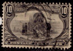 US Scott #290 - 1898 Trans-Mississippi Perf 12 w/ #191 Water Mark CV~$35