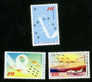 China Stamps # C70-2 VF MH