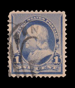 UNITED STATES STAMP. 1890 - 93. SCOTT # 219. USED. ITEM 2