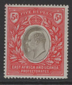 KENYA, UGANDA & TANGANYIKA SG13 1903 5r GREY & RED MTD MINT