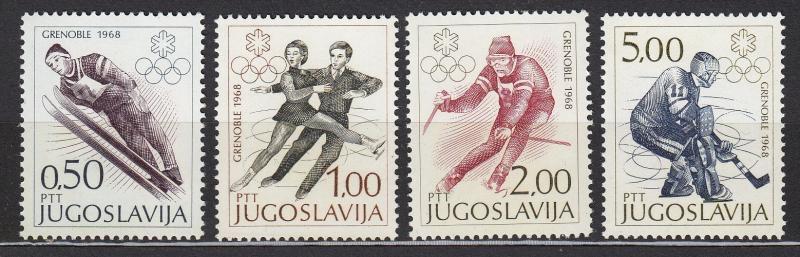 Yugoslavia - 1968 Winter Olympic Games Sc # 900/903 - MNH (1711)