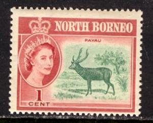 North Borneo 1961: Sc. # 280; **/MNH Single Stamp