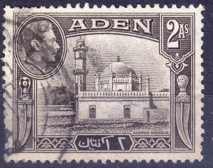 Aden - #20 - 1939/48 - VFU - KGVI - CV$0.25