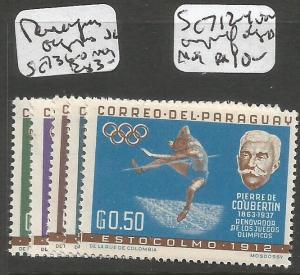 Paraguay Olympics SC 736-40 MOG (1cyp)