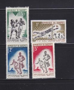 Dahomey 172-175 MHR Sports