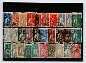 Portugal 30 Mint and Used Stamps, some faults - C792